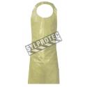 Polyethylene apron 4 mil 155 cm. (61 in.) pq / 25 unit.