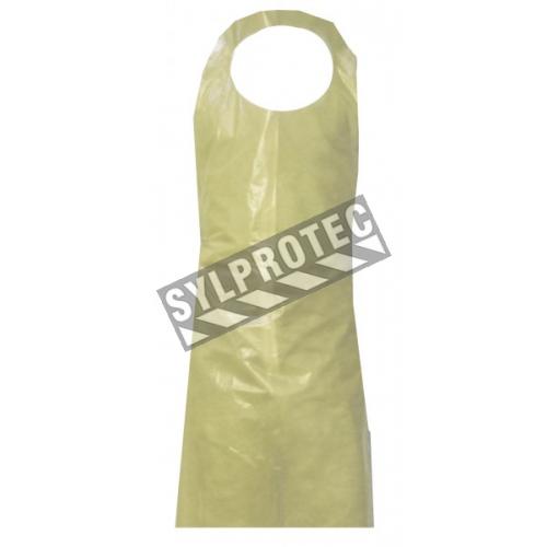 Polyethylene apron 4 mil 150 cm. (61 in.)