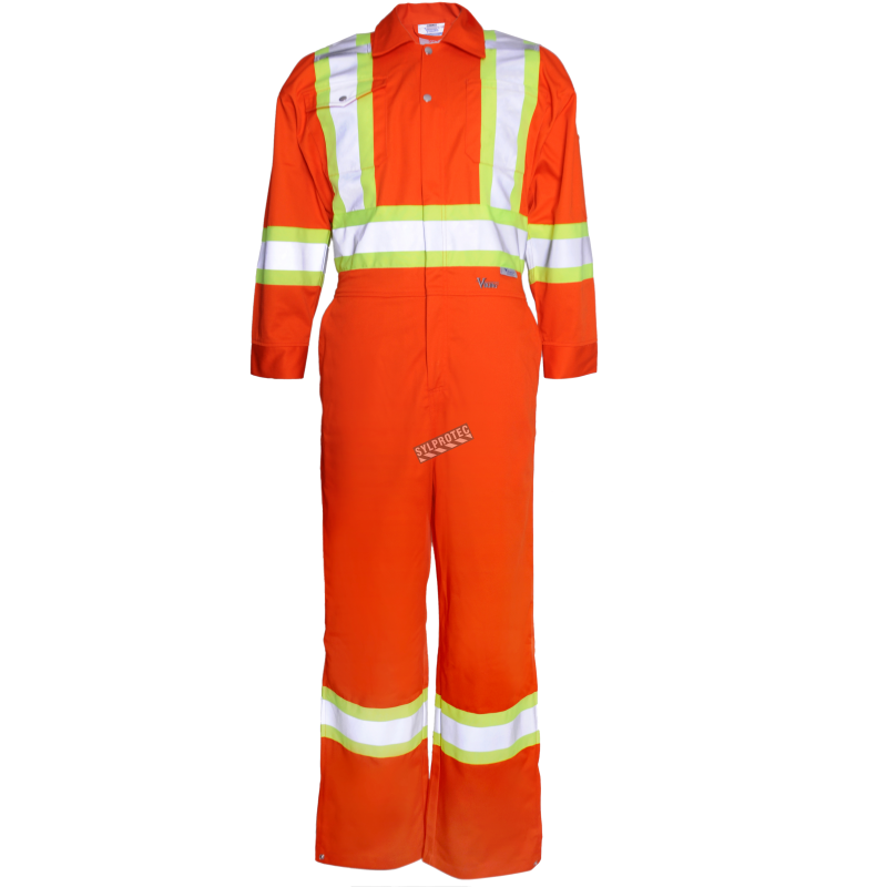 coverall 65 polyester 35 cotton 2 front chest pockets