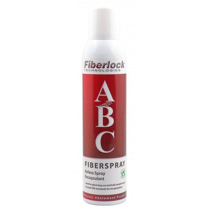 Fiberspray temporary or permanent asbestos lockdown encapsulant and sealant, 8 oz.