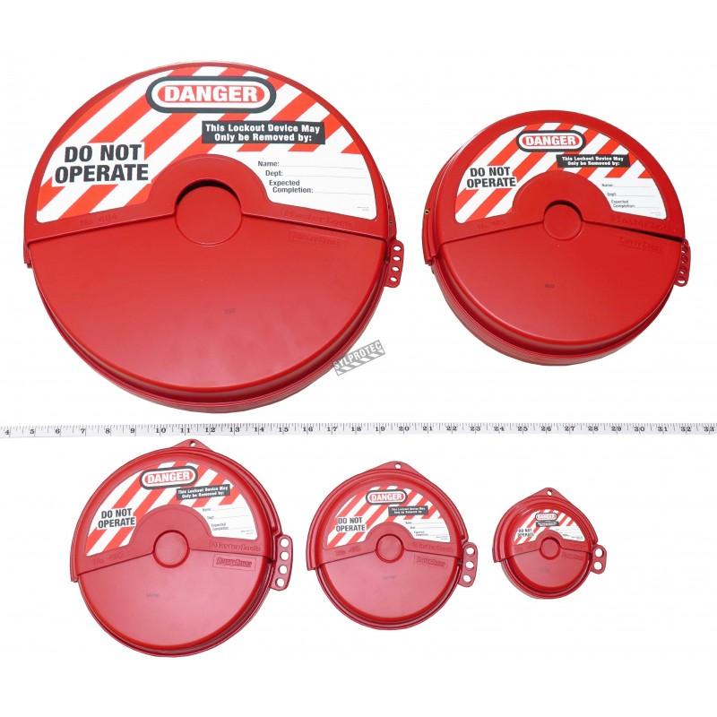 Ensemble couvre-valves 5 morceaux de 1 po à 13 po.