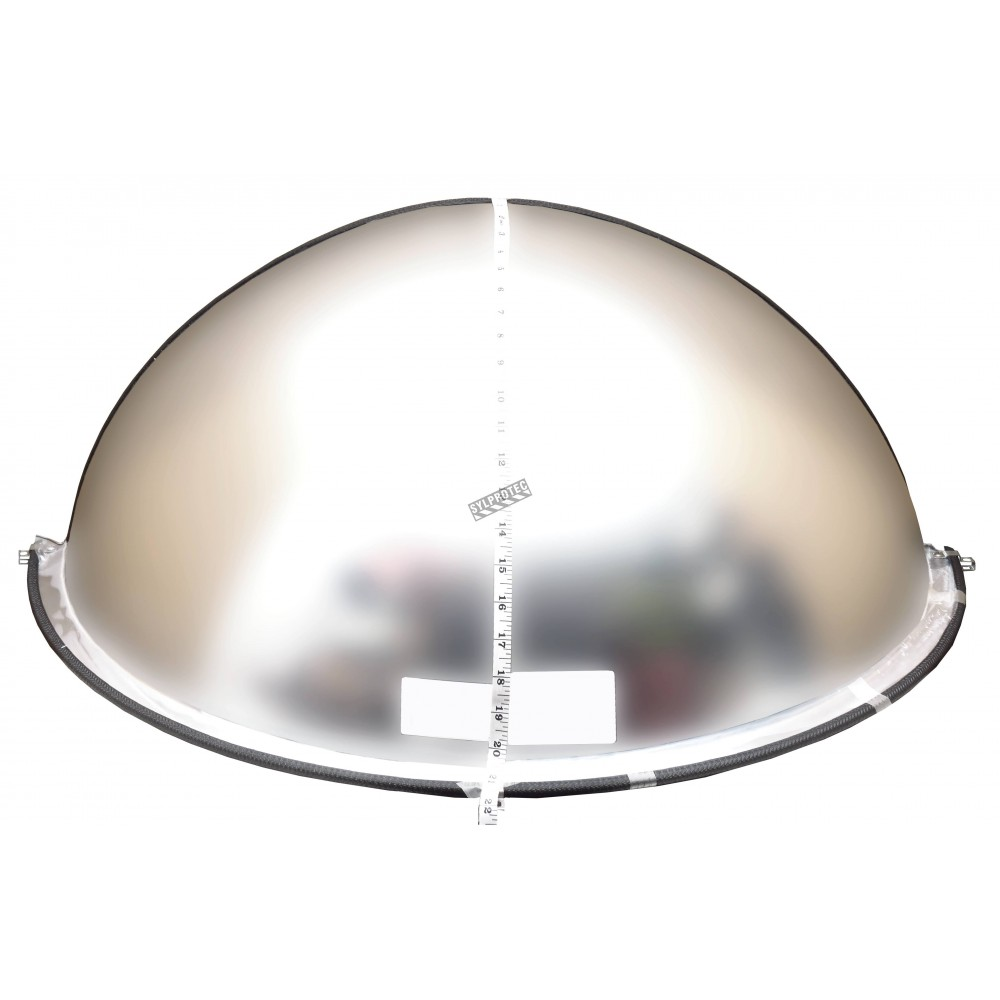 miroir convexe en demi d me pour vue 180 dans une intersection en t. Black Bedroom Furniture Sets. Home Design Ideas