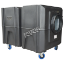 BULLDOG portable air scrubber with  two speed. Ideal for asbestos abatement & decontamination workzone
