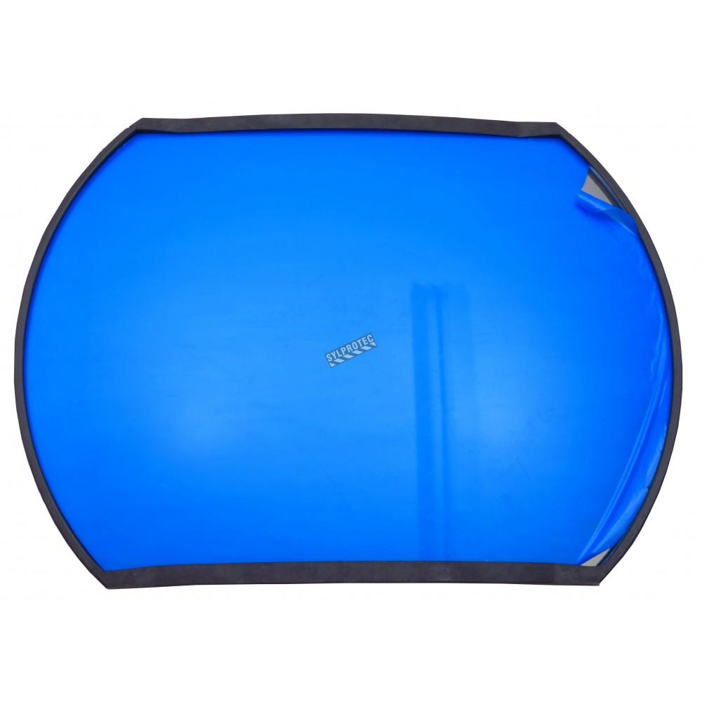 miroir convexe rectangulaire sur bras ajustable champ de vue de 160. Black Bedroom Furniture Sets. Home Design Ideas