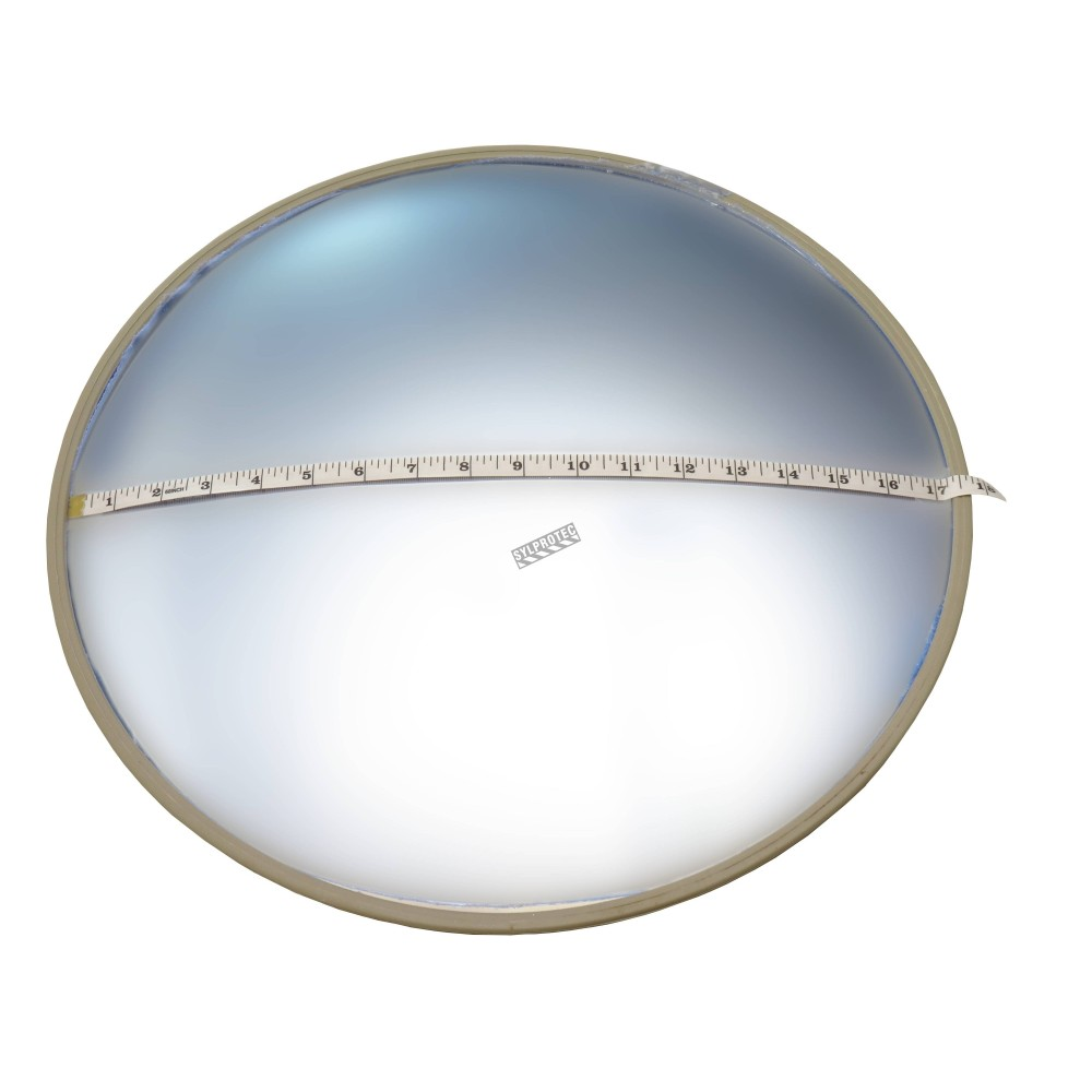 Acrylic Round Convex Mirror With Adjustable Arm 100