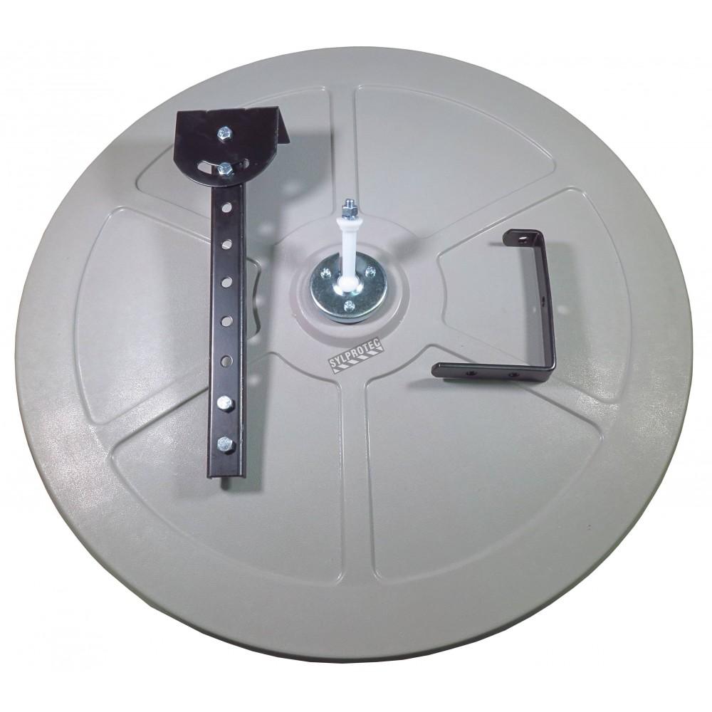 Acrylic Round Convex Mirror With Adjustable Arm 100