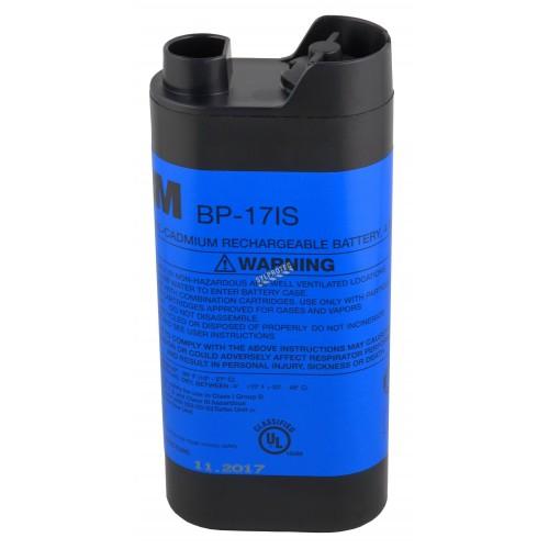 Batterie rechargeable de nickel-cadmium à sécurité intrinsèque par 3M. Batterie offrant 4.8 volts DC & une autonomie de 8 heures