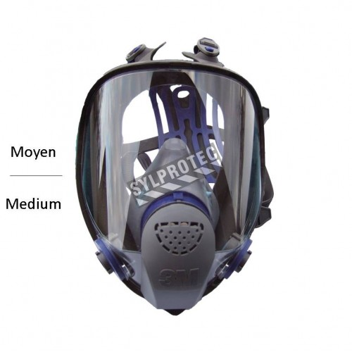 3M Ultimate FX NIOSH and CSA Z94.4 approved full facepiece. Lightweight and comfortable. Filter & cartridge not included. Medium