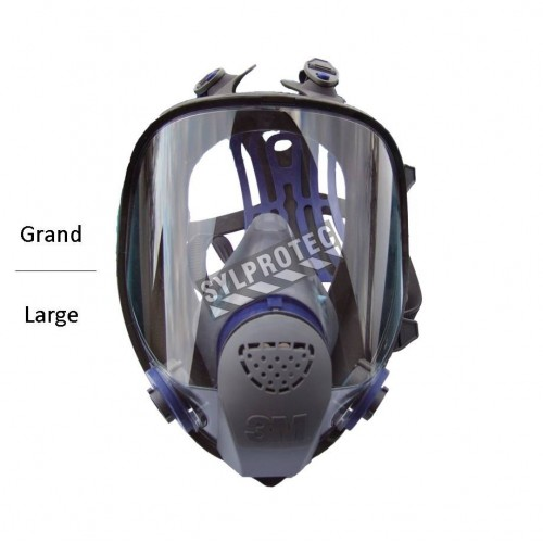 3M Ultimate FX NIOSH approved full facepiece Lightweight and comfortable. Filter and cartridge not included size Large