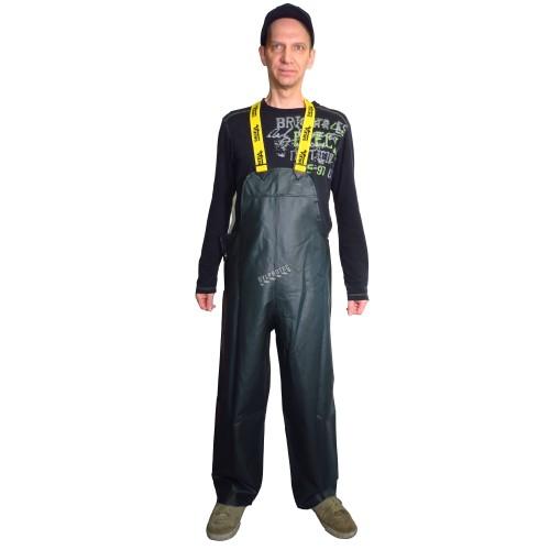 Pantalon imperméable Viking Journeyman en polyester recouvert de PVC vert pour conditions extrêmes (S à 3XL)