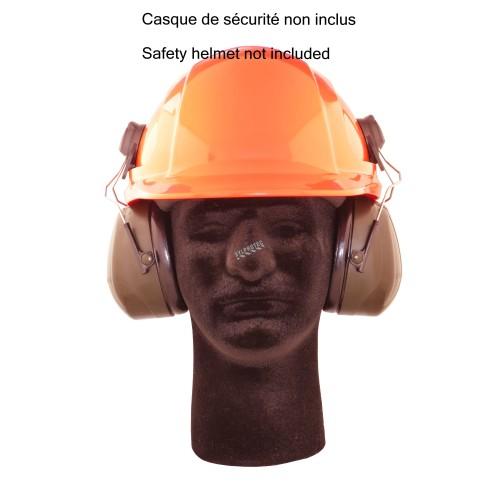 Coquilles 3M PELTOR Optime 101 H7P3E pour casque de sécurité, NRR 24 dB
