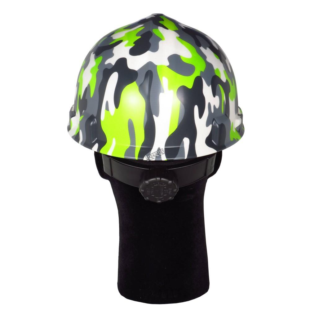 casque de s curit avec motif camouflage moderne csa type. Black Bedroom Furniture Sets. Home Design Ideas