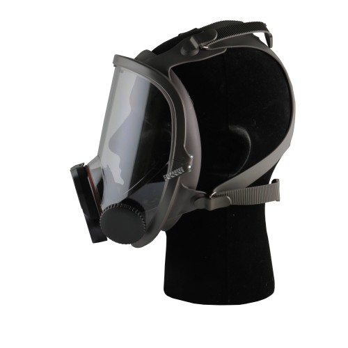 3M 6000DIN series full facepiece for face-mounted powered air purifying respirators and air supplied respirators. Small size.