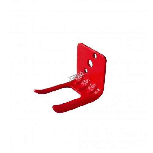 Wall hanger brackets for Amerex brand 1.25-2.5 lb dry chemical portable fire extinguishers