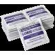 Benzalkonium chloride antiseptic pads, 100/box.