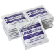 Tampons antiseptiques au chlorure de benzalkonium, 100 sachets/bte.