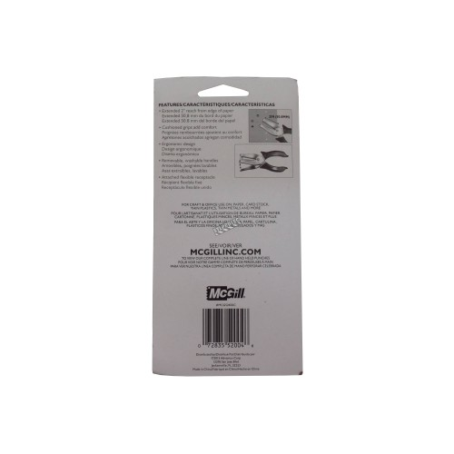 """Economical handheld 1/8"""" single-hole punch. Great for punching inspection tags."""