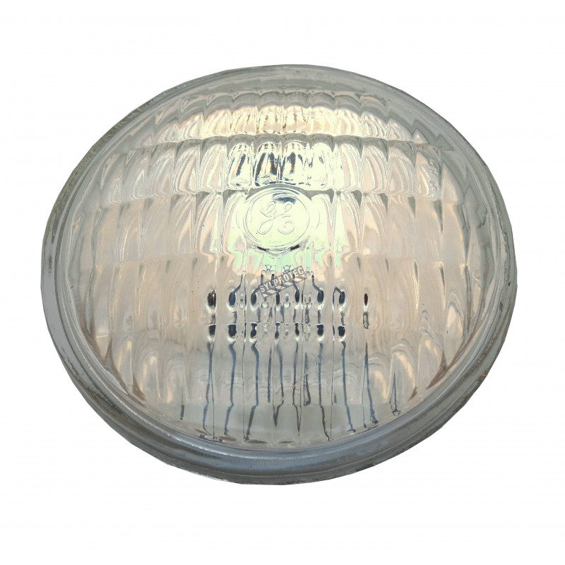 6V DC 8W sealed beam lamp for emergency lighting units, sold individually.