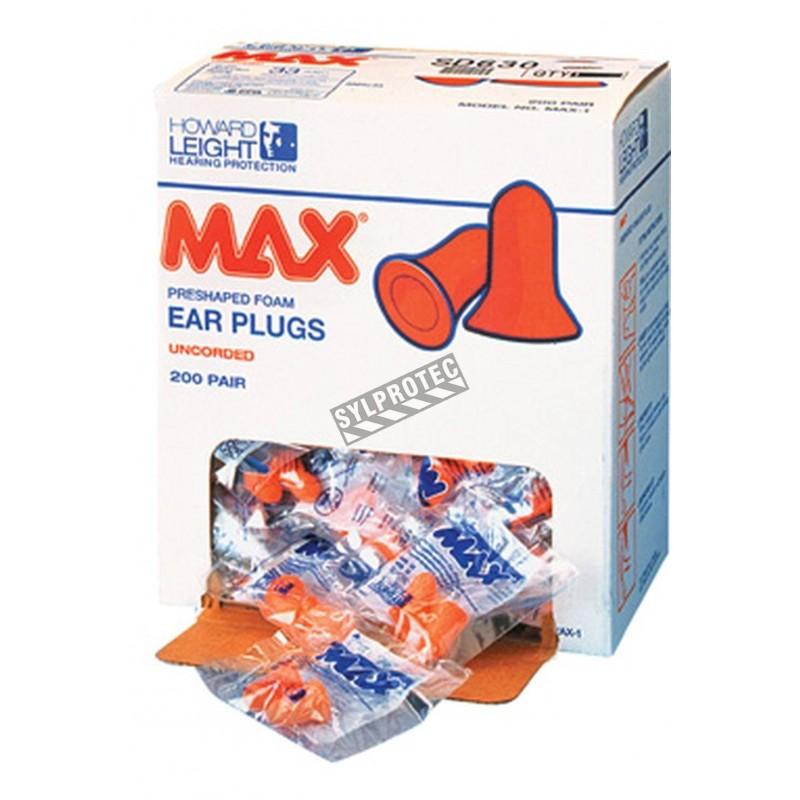 Bouchon Max en mousse 33 db . bt/200 unité