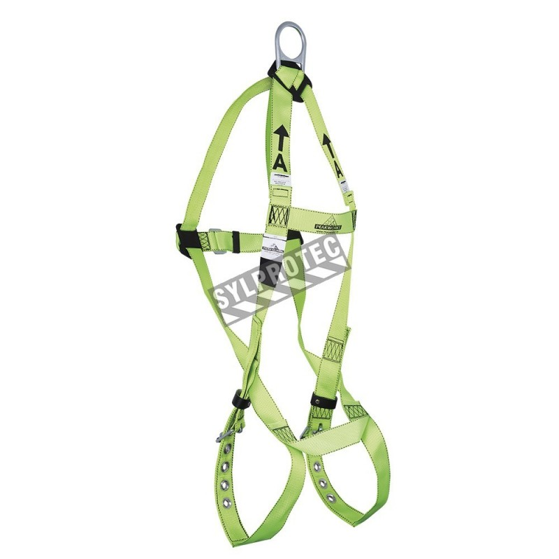 t safety harness, CSA group A, with 1 back D-ring