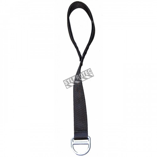 Cross-Arm Kevlar anchorage strap for fall protection. 2 in x 3 ft.