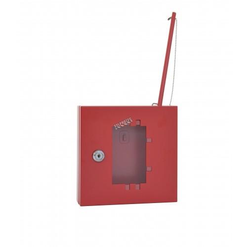 """Metal emergency key box 6,92"""" la x 2,04"""" p x 6,8"""" h"""