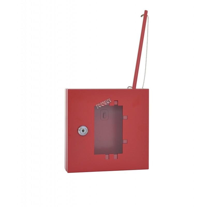 """Boîtes à clé d'urgence en acier 6,92"""" la x 2,04"""" p x 6,8"""" h"""
