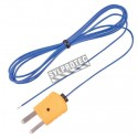 Sonde thermocouple de type K.