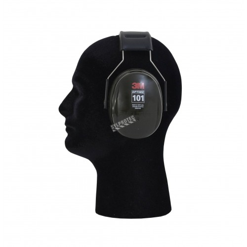 Coquille antibruit 3M modèle serre tête H7A (vert), 27 dB, Optime 101