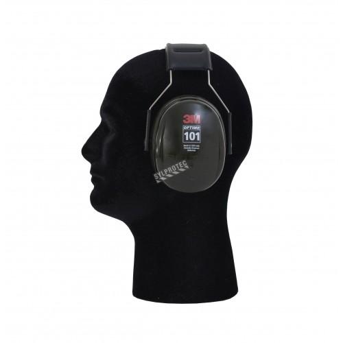 Over-the-head earmuff PELTOR model H10A, 27 dB, optime 101