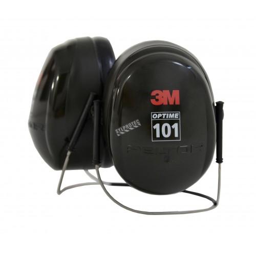 Coquille antibruit 3M modèle serre nuque H7B, 27 dB, Optime 101