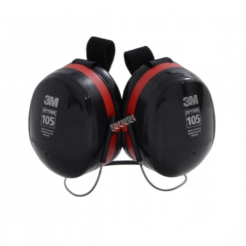 Earmuff PELTOR behind-the-head model H10B, 29dB, Optime 105.