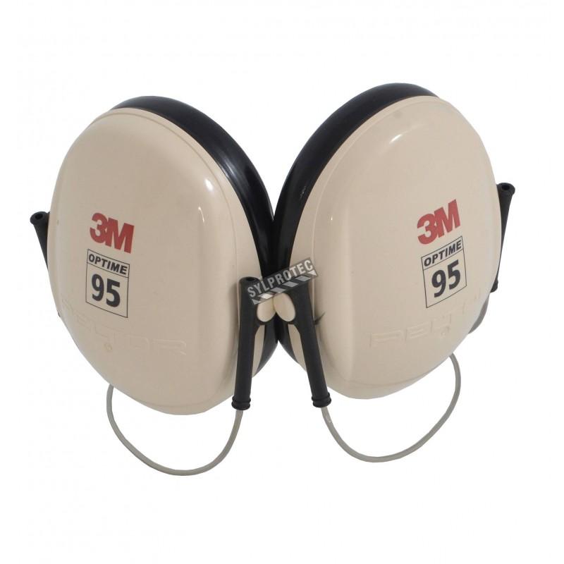 Coquille antibruit 3M serre nuque modèle H6B, 21 dB, Optime 95.