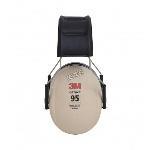 Coquille antibruit de 3M modèle H6A, 21 dB, Optime 95.