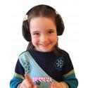 PELTOR Junior black earmuffs for toddlers and children. NRR 22 db.