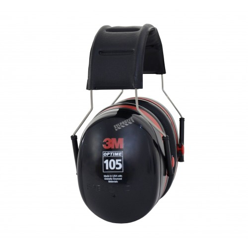 Earmuff PELTOR (3M) model H10A, 30 dB, over-the-head model, Optime 105.