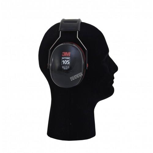 Earmuff PELTOR (3M) model H10A, 30 dB, over-the-head model, Optime 105.