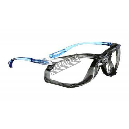3M Virtua Max 11872 protective eyewear & foam seal, anti-fog clear polycarbonate lenses. CSA