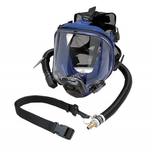 Allegro set includes a full-face respirator, flexible hose and one nylon belt, one size fit most, sold individually. No. 9901.