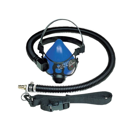 Set includes a haft mask respirator, flexible hose and one nylon belt, one size fit most, sold individually. No. 9920