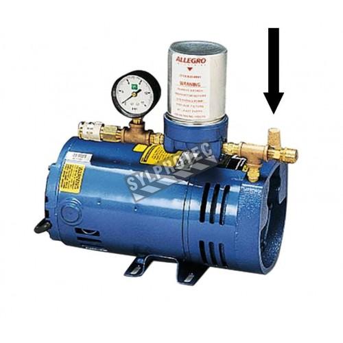 Filtre d'entrée 40 microns pour pompe à air ambiant basse pression d'Allegro, modèle RA9806, vendu à l'unité.