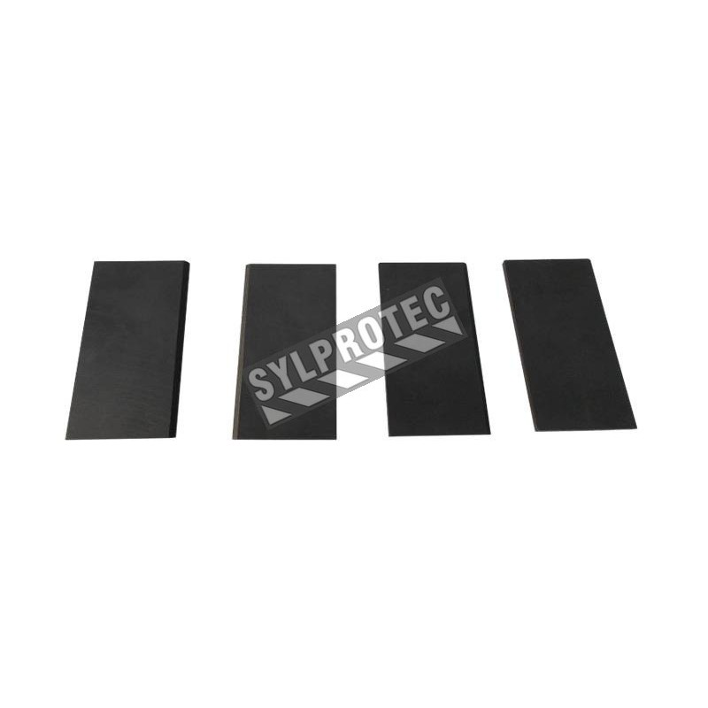 Set of 4 carbon vanes for model RA9821 (A-750) Allegro's low pressure ambient air pump.