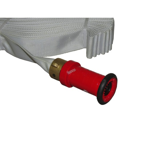 ULC Fire hose adjustable nozzle of 1.5 in diameter