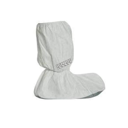 Tyvek 400 boot covers with gray PVC anti-slip coating, 17 in., box/50 pair