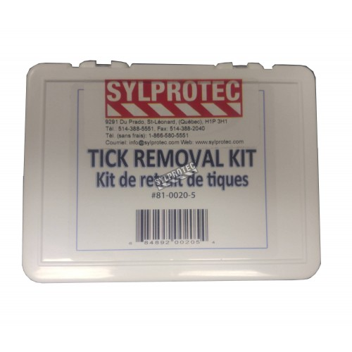 Kit for the removal of ticks