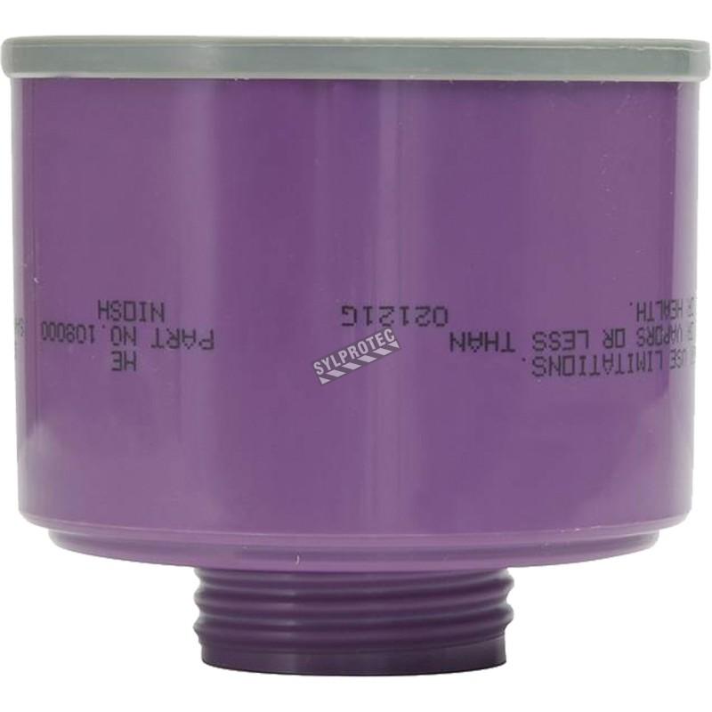 Filtre Survivair HEPA & obturateurs pour masque complet de protection respiratoire à épuration d'air motorisé Powerflow, 1 un.