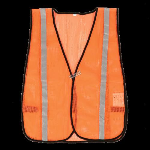 Veste de circulation orange économique, taille unique.