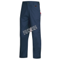 Blue safety pant, FR-TECH 7oz Flame retardant