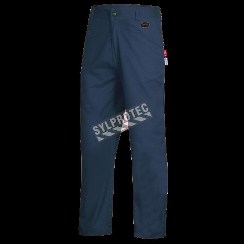 Blue safety pant, FR-TECH 7oz Flame retardant