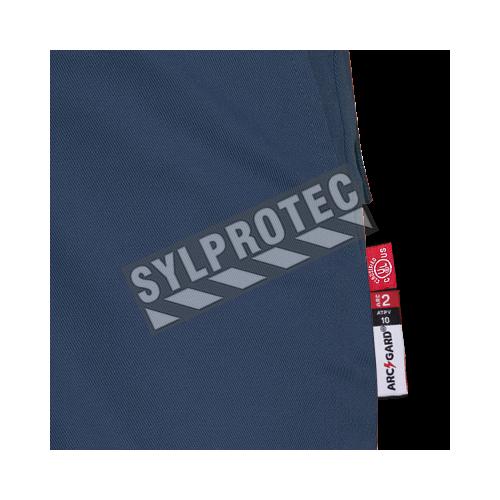 Pantalon de sécurité bleu, 7 oz ignifuge FR-TECH